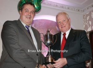 John Campbell receives Club Person Of The Year