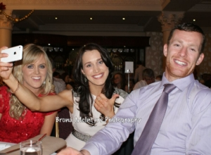 Special Guests at the Dinner Dance; Aoife Kelly and Tina Hannon form Offaly and Patsy Bradley from Slaughtneil