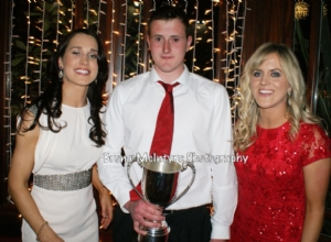 Senior Reserve Captain Ronan Gillan with special Guests Tina and Aoife