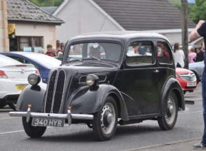 DAN MCTOAL IN HIS VINTAGE CAR