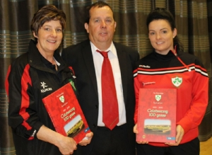 VICE CHAIRMAN JOHN MCKEOWN WITH HIS WIFE MANDY AND DAUGHTER AND SENIOR CAMOG SUZANNE MCKEOWN